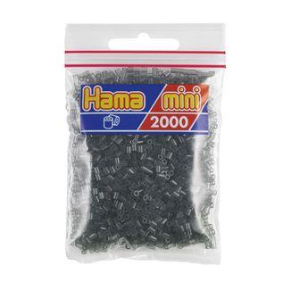 Hama Mini Bag 2000 black translucent pieces No. 501-23