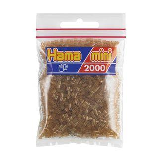Hama Mini Bag 2000 brown translucent pieces No. 501-25