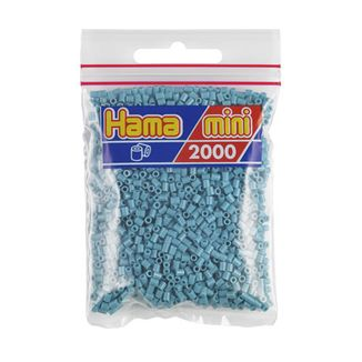 Hama Mini Bag turquoise 2000 pieces No. 501-31