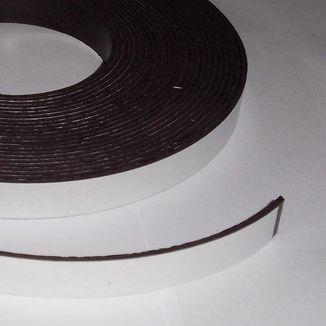 Lámina magnética adhesiva 15mm x 2mm  10 CM