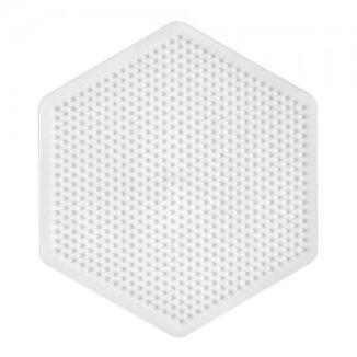 Placa / Pegboard hexagonal grande para Hama midi