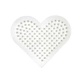 Placa / Pegboard Corazón pequeño para Hama Midi