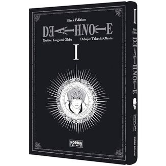 Death Note Black Edition #01 Manga Oficial Norma Editorial