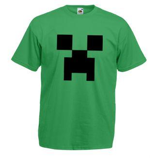 Camiseta Minecraft - Creeper