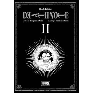 Death Note Black Edition #02 Manga Oficial Norma Editorial