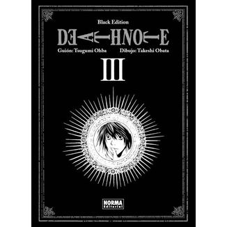 Death Note Black Edition #03 Manga Oficial Norma Editorial