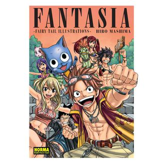 FANTASIA. FAIRY TAIL ILLUSTRATIONS