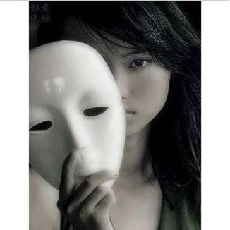 Máscara Blanca para mujer