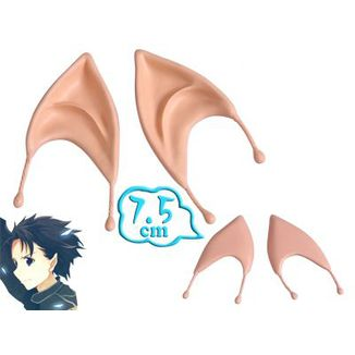 Orejas Elfo Sword Art Online - Kirito