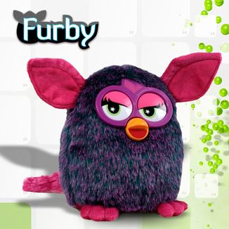 Plush Doll Purple Furby
