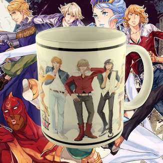Taza  Tiger and Bunny