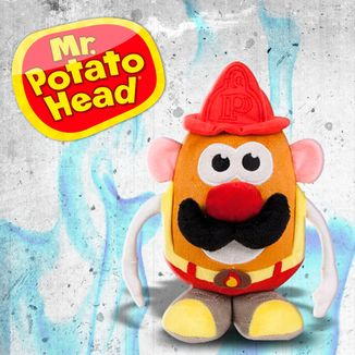 Plush Doll Mr. Potato Firefighter Mr. Potato Head