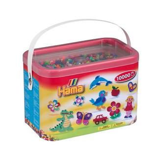 Cubo 10.000 piezas Hama Midi Mix 68 ( 48 Colores)