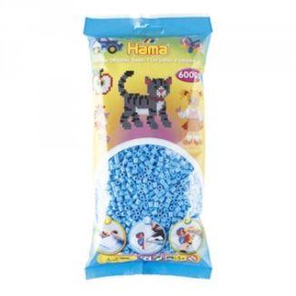 Bolsa de Hama midi azul pastel de 6000 piezas