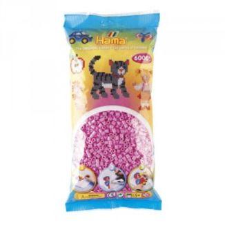 Bolsa de Hama midi rosa pastel de 6000 piezas