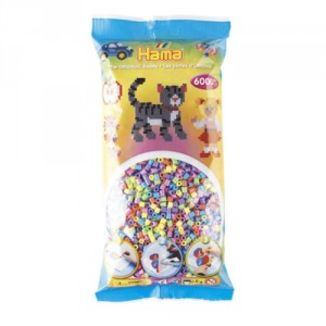 Bolsa de Hama midi mix/mezcla de tonos pastel de 6000 piezas