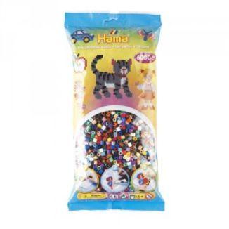 Bolsa de Hama midi mix/mezcla de 22 colores de 6000 piezas