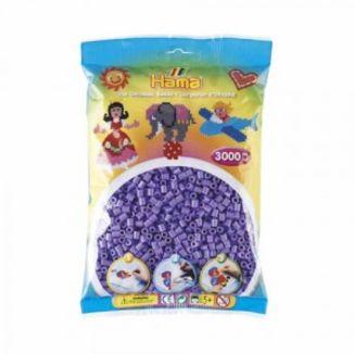 Bolsa de Hama midi violeta pastel de 3000 piezas