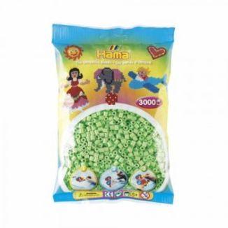 Bolsa de Hama midi verde pastel de 3000 piezas