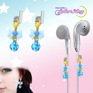 Gashapon Sailor Moon Earphone Charms - Sailor Mercurio