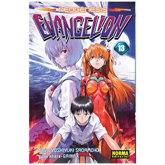 Neogénesis Evangelion #13 Manga Oficial Norma Editorial