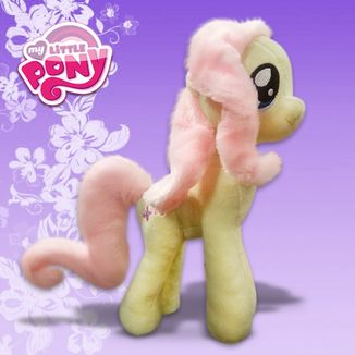 Plush Fluttershy V3 My Little Pony