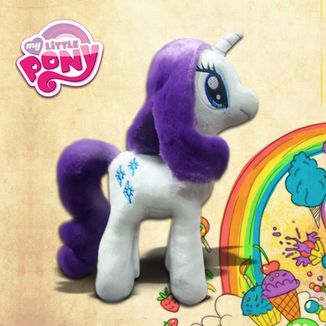 Peluche Rarity V3  My Little Pony