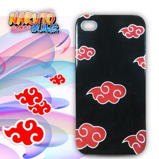 Carcasa Iphone 4G - Naruto Akatsuki