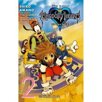 Kingdom Hearts Final Mix #02 Manga Oficial Planeta Comic