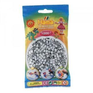 Bolsa de Hama midi gris claro de 1000 piezas 207-70
