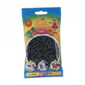 Bolsa de Hama midi gris de 1000 piezas 207-71
