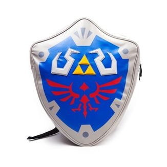 Mochila 3D Escudo Hyliano - The Legend of Zelda
