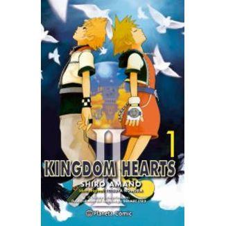Kingdom Hearts II #01 Manga Oficial Planeta Comic (Spanish)