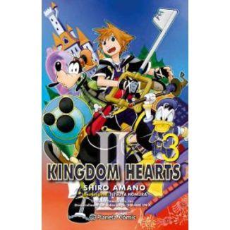 Kingdom Hearts II #03 Manga Oficial Planeta Comic (spanish)