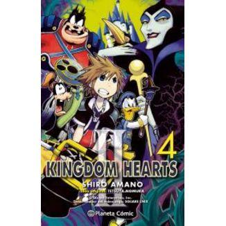 Kingdom Hearts II #04 Manga Oficial Planeta Comic (spanish)