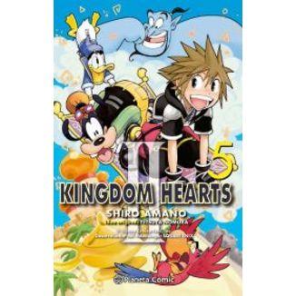 Kingdom Hearts II #05 Manga Oficial Planeta Comic (spanish)