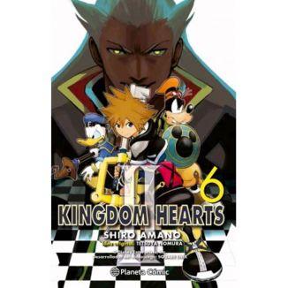 Kingdom Hearts II #06 Manga Oficial Planeta Comic (Spanish)
