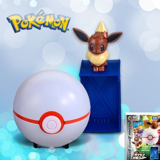 Figura Pokemon Getter - Eevee pokeball