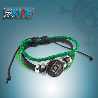 Pulsera One Piece - Bandera Monkey D. Dragon