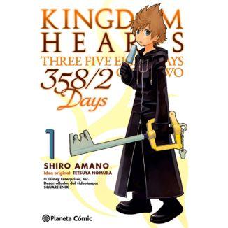 01# Kingdom Hearts - 358/2 Days Manga Oficial Planeta Comic (spanish)