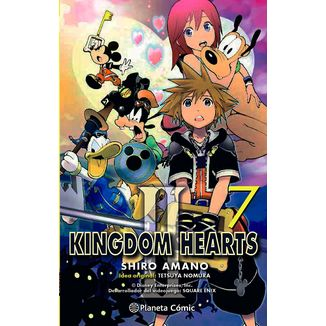 Kingdom Hearts II #07 Manga Oficial Planeta Comic (Spanish)