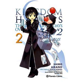 Kingdom Hearts 358/2 Days #02 Manga Oficial Planeta Comic (Spanish)