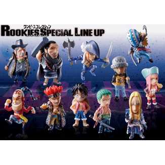 Trading Figure ONE PIECE - Rookies Special Line up
