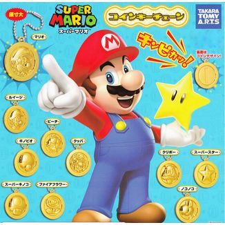 Gashapon Nintendo - Mario Coins - Individual