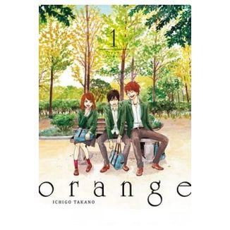 Orange #01 (Spanish) Manga Oficial Tomodomo
