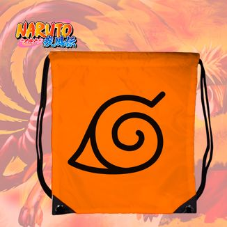 Bolso GYM Naruto - Símbolo aldea de la hoja