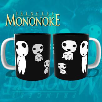Taza La princesa mononoke - Kodamas