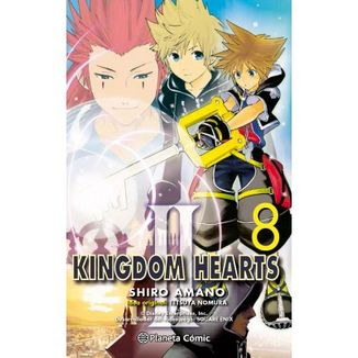 Kingdom Hearts II #08 Manga Oficial Planeta Comic (spanish)