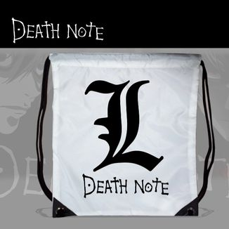 Bolso GYM Death Note - L