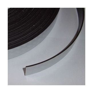 Lámina magnética adhesiva 25mm X 1,6mm - 10cm